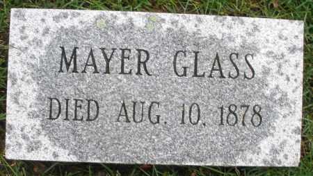 GLASS, MAYER - Montgomery County, Ohio   MAYER GLASS - Ohio Gravestone Photos
