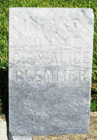 GLEMMER, INFANT SON - Montgomery County, Ohio | INFANT SON GLEMMER - Ohio Gravestone Photos
