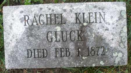 GLUCK, RACHEL - Montgomery County, Ohio | RACHEL GLUCK - Ohio Gravestone Photos