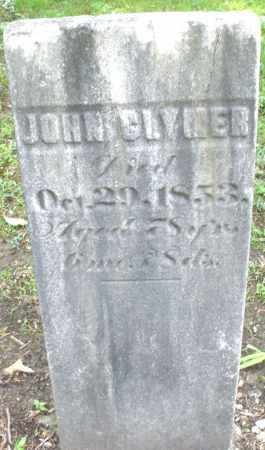 GLYMER, JOHN - Montgomery County, Ohio | JOHN GLYMER - Ohio Gravestone Photos