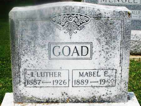GOAD, MABEL E. - Montgomery County, Ohio | MABEL E. GOAD - Ohio Gravestone Photos