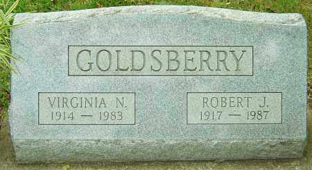 GOLDSBERRY, ROBERT J - Montgomery County, Ohio | ROBERT J GOLDSBERRY - Ohio Gravestone Photos