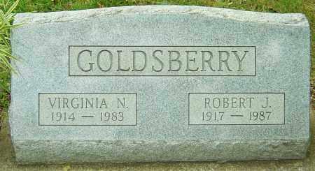 GOLDSBERRY, VIRGINIA N - Montgomery County, Ohio | VIRGINIA N GOLDSBERRY - Ohio Gravestone Photos
