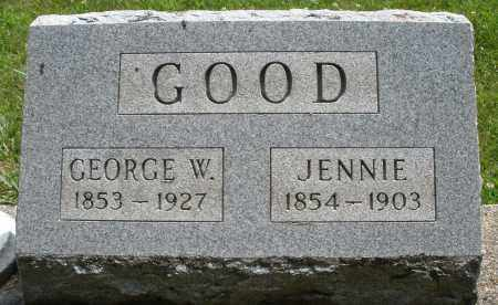 GOOD, GEORGE W. - Montgomery County, Ohio | GEORGE W. GOOD - Ohio Gravestone Photos