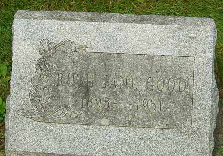 WILSON GOOD, RUTH JANE - Montgomery County, Ohio | RUTH JANE WILSON GOOD - Ohio Gravestone Photos