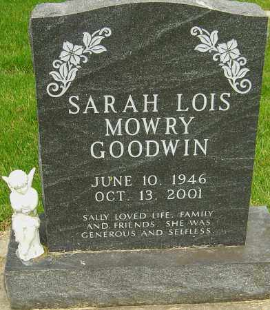 "MOWRY GOODWIN, SARAH LOIS ""SALLY"" - Montgomery County, Ohio 