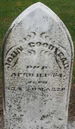 GOODYEAR, JOHN - Montgomery County, Ohio | JOHN GOODYEAR - Ohio Gravestone Photos