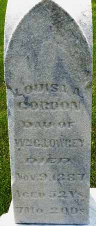 LOWREY GORDON, LOUISA A. - Montgomery County, Ohio | LOUISA A. LOWREY GORDON - Ohio Gravestone Photos