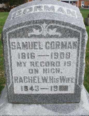 GORMAN, SAMUEL - Montgomery County, Ohio | SAMUEL GORMAN - Ohio Gravestone Photos