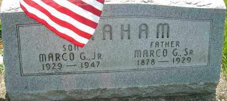 GRAHAM JR, MARCO G - Montgomery County, Ohio | MARCO G GRAHAM JR - Ohio Gravestone Photos