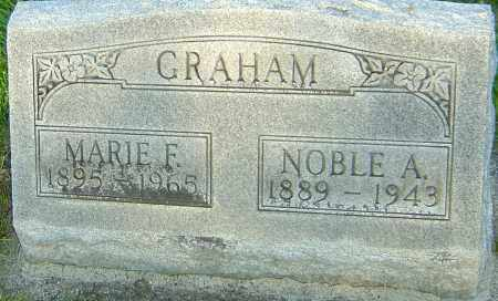 MAXWELL GRAHAM, MARIE FLORENCE - Montgomery County, Ohio | MARIE FLORENCE MAXWELL GRAHAM - Ohio Gravestone Photos