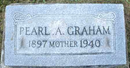 GRAHAM, PEARL A. - Montgomery County, Ohio | PEARL A. GRAHAM - Ohio Gravestone Photos
