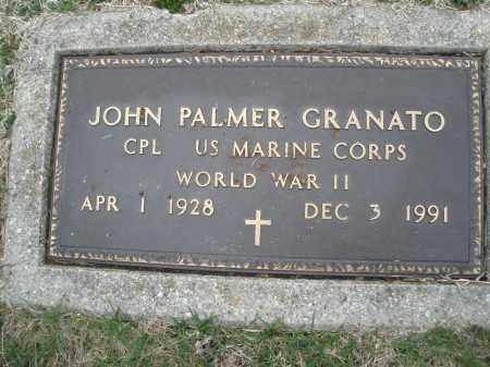 GRANATO, JOHN PALMER - Montgomery County, Ohio | JOHN PALMER GRANATO - Ohio Gravestone Photos