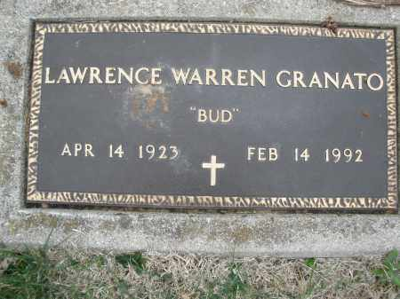 GRANATO, LAWRENCE WARREN - Montgomery County, Ohio | LAWRENCE WARREN GRANATO - Ohio Gravestone Photos