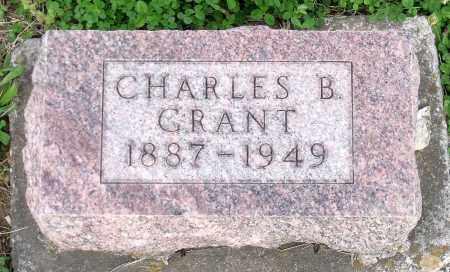 GRANT, CHARLES B. - Montgomery County, Ohio | CHARLES B. GRANT - Ohio Gravestone Photos