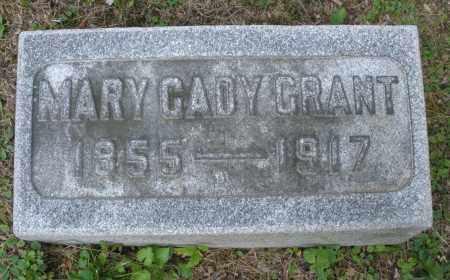GRANT, MARY - Montgomery County, Ohio | MARY GRANT - Ohio Gravestone Photos