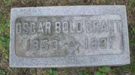 GRANT, OSCAR BOLD - Montgomery County, Ohio | OSCAR BOLD GRANT - Ohio Gravestone Photos