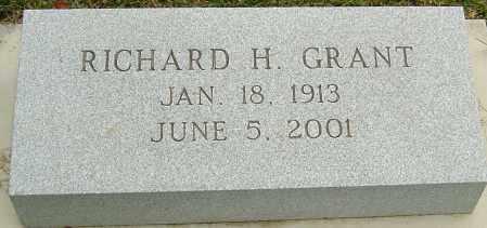 GRANT, RICHARD H - Montgomery County, Ohio | RICHARD H GRANT - Ohio Gravestone Photos