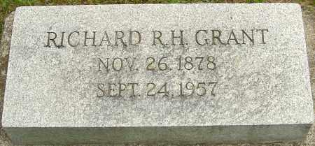 GRANT, RICHARD R H - Montgomery County, Ohio | RICHARD R H GRANT - Ohio Gravestone Photos