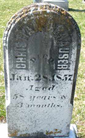 GRAUSER, CHRISTIAN - Montgomery County, Ohio | CHRISTIAN GRAUSER - Ohio Gravestone Photos