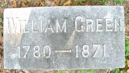 GREEN, WILLIAM - Montgomery County, Ohio | WILLIAM GREEN - Ohio Gravestone Photos