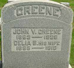 GREENE, JOHN V - Montgomery County, Ohio | JOHN V GREENE - Ohio Gravestone Photos