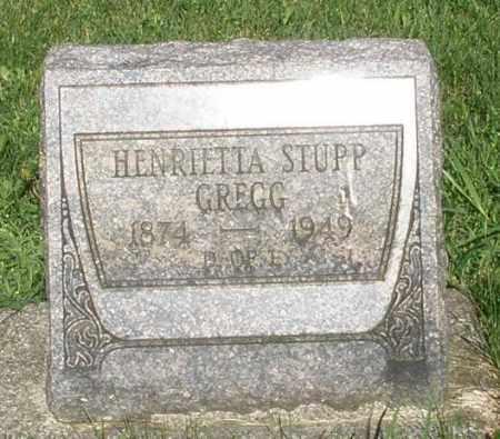 STUPP GREGG, HENRIETTA - Montgomery County, Ohio | HENRIETTA STUPP GREGG - Ohio Gravestone Photos