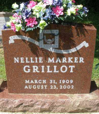 GRILLOT, NELLIE - Montgomery County, Ohio | NELLIE GRILLOT - Ohio Gravestone Photos