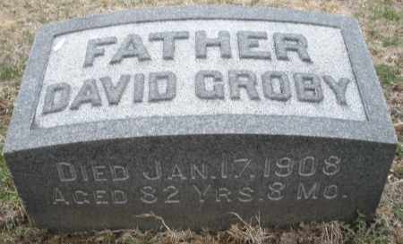 GROBY, DAVID - Montgomery County, Ohio | DAVID GROBY - Ohio Gravestone Photos
