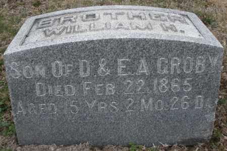 GROBY, WILLIAM M. - Montgomery County, Ohio | WILLIAM M. GROBY - Ohio Gravestone Photos