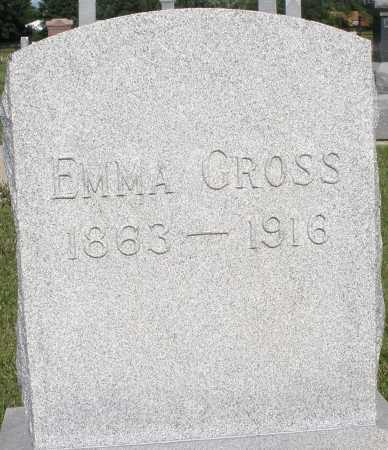 GROSS, EMMA - Montgomery County, Ohio | EMMA GROSS - Ohio Gravestone Photos
