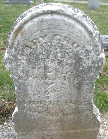 GROSS, MARY - Montgomery County, Ohio | MARY GROSS - Ohio Gravestone Photos