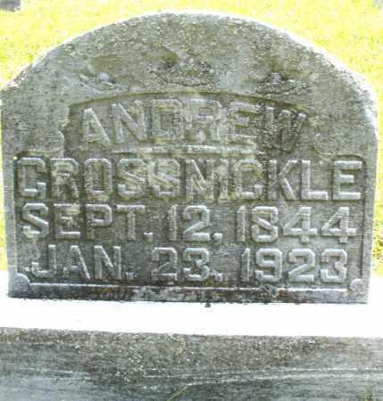 GROSSNICKLE, ANDREW - Montgomery County, Ohio | ANDREW GROSSNICKLE - Ohio Gravestone Photos