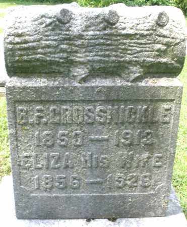 GROSSNICKLE, B.F. - Montgomery County, Ohio | B.F. GROSSNICKLE - Ohio Gravestone Photos