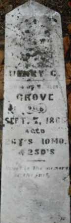 GROVE, HENRY G. - Montgomery County, Ohio | HENRY G. GROVE - Ohio Gravestone Photos