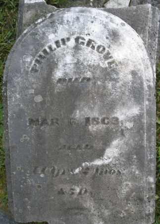 GROVE, PHILIP - Montgomery County, Ohio | PHILIP GROVE - Ohio Gravestone Photos