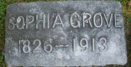 GROVE, SOPHIA - Montgomery County, Ohio | SOPHIA GROVE - Ohio Gravestone Photos