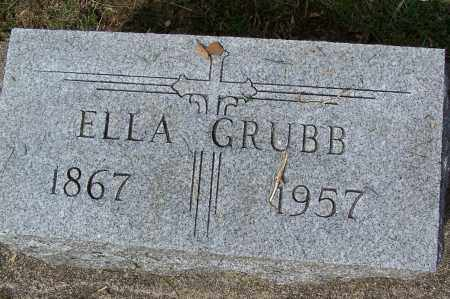 GRUBB, ELLA - Montgomery County, Ohio | ELLA GRUBB - Ohio Gravestone Photos