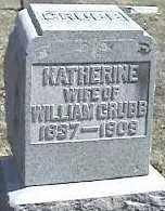 GRUBB, KATHERINE - Montgomery County, Ohio | KATHERINE GRUBB - Ohio Gravestone Photos