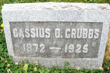 GRUBBS, CASSIUS - Montgomery County, Ohio | CASSIUS GRUBBS - Ohio Gravestone Photos