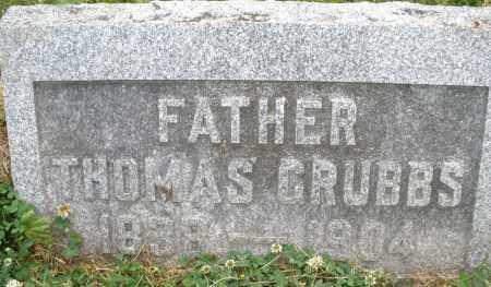 GRUBBS, THOMAS - Montgomery County, Ohio | THOMAS GRUBBS - Ohio Gravestone Photos