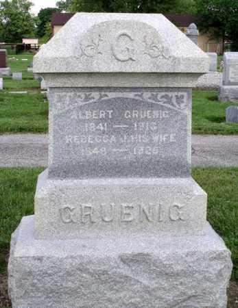 GRUENIG, ALBERT - Montgomery County, Ohio | ALBERT GRUENIG - Ohio Gravestone Photos