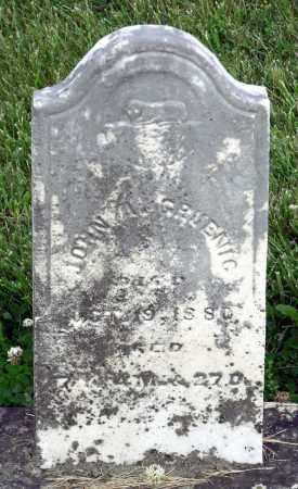 GRUENIG, JOHN A - Montgomery County, Ohio | JOHN A GRUENIG - Ohio Gravestone Photos