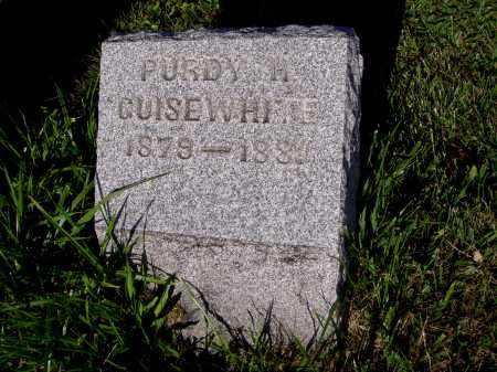 GUISEWHITE, PURDY H - Montgomery County, Ohio | PURDY H GUISEWHITE - Ohio Gravestone Photos
