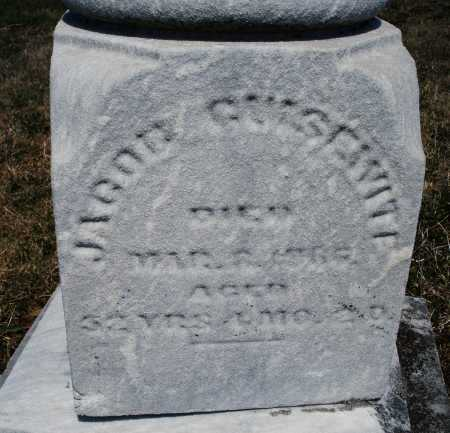 GUISEWITE, JACOB - Montgomery County, Ohio | JACOB GUISEWITE - Ohio Gravestone Photos