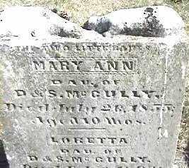 GULLY, MARY ANN - Montgomery County, Ohio | MARY ANN GULLY - Ohio Gravestone Photos