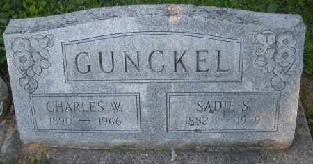 GUNCKEL, SADIE S. - Montgomery County, Ohio | SADIE S. GUNCKEL - Ohio Gravestone Photos