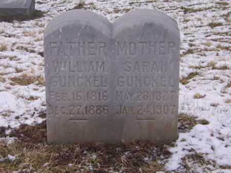 GUNCKEL, WILLIAM - Montgomery County, Ohio | WILLIAM GUNCKEL - Ohio Gravestone Photos