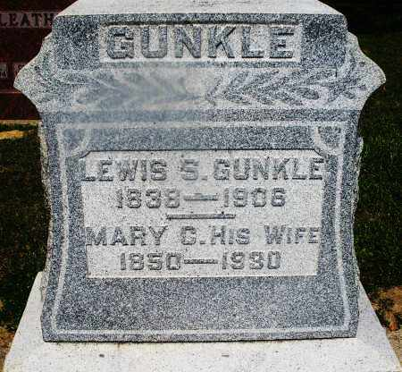GUNKLE, MARY C. - Montgomery County, Ohio | MARY C. GUNKLE - Ohio Gravestone Photos