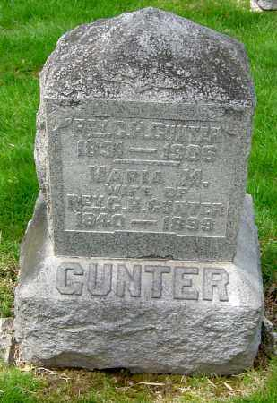 GUNTER, MARIA M - Montgomery County, Ohio | MARIA M GUNTER - Ohio Gravestone Photos